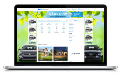 Wallpaper med AdSwitch for Gumpens Auto Grenland
