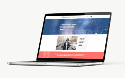 Nettside for Schibsted for Business